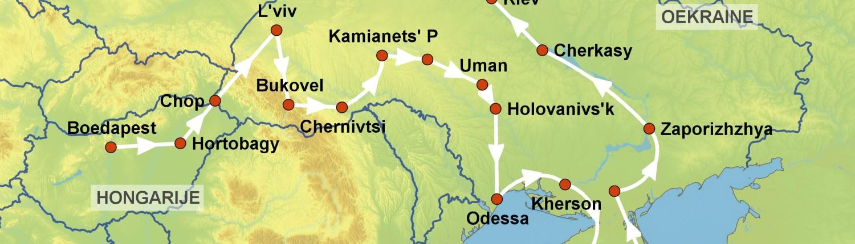 Ukraïne route